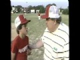 VINTAGE News Report On A BLIND Little League BASEBALL Manager