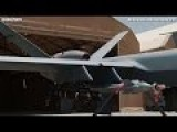 VERY DEADLY TOY ! Close Up Shots Of MQ-9 REAPER Remotely Piloted SPY Aircraft