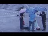 Video Of Chinese Nurse Performing CPR In Rain Goes Viral