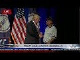 Vietnam War Draft Dodger Trump Accepts And Keeps Purple Heart From Wounded Warrior