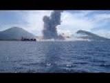 Volcano Eruption In Papua New Guinea Caught On Camera!!