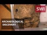 VIDEO Unearthing Swiss Medieval Human Remains