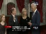 Vice President Biden's Bizarre, Creepy Interaction With Senator's Daughter