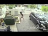 Video On Beautiful Girls Beating Robbery