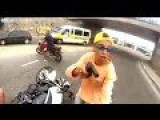 VIDEO: Thief Shot Dead During Attempted Motorbike Hijack In Sao Paulo