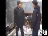 Video Titled: Two Asian Russian Dudes Get Into Fight In Snow