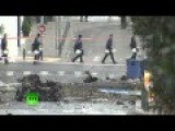 Video: Car Bomb Explodes In Athens Ahead Of Merkel Visit