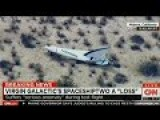 Virgin Galactic Major Cluster Crash