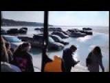 Vehicles Sinking Thru Ice At Lake Geneva Winterfest - LOLZ!