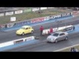 Volkswagen Beetle Vs Cadillac, Plymouth Roadrunner Drag Race
