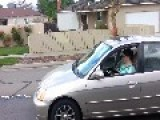 Woman Is Caught Reading While Driving