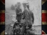 WWI Footage | British Motor Machine Gun Service
