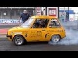 World's Quickest Street Legal Electric Car - Flux Capacitor