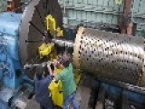 Working With A 50 Foot 15.2 Meter Long Lathe