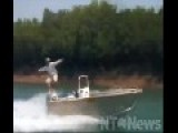 WTF - Surfing On A Driverless Boat In A Crocodile Infested River