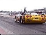 What A GP Road Race Car Looks Like On A Drag Strip