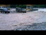 When You Drove A 4WD Car In A Flash Flood