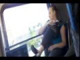 Woman Drunk On The Bus