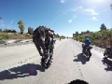 WATCH Daredevil Bikers In For A HUGE Surprise After Taunting Cop