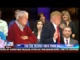 Watch WWII Veteran Ask Trump And Bobby Knight A Question And Knight's EPIC RESPONSE!