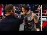 Wayne Rooney Gets Slaphappy On WWE