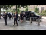 WATCH Exclusive : Hillary Clinton Having Hard Time To Stand And Almost Fall Before Enter The Car