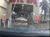 Worlds Most Difficult Car Wash - Or Worlds Dumbest Driver