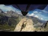 Wingsuit Flight Through 2 Meter Wide Cave - Uli Emanuele