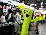 Wacky Waving Inflatable Arm Flaling Tube Man Cosplay