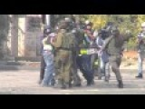 Watch Israeli Soldiers Brutalize And Pepper Spray Palestinian Journalists For The Crime Of Doing Journalism