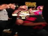 WWE Champion CM Punk Knocks Out The Wrong Fan