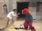 WIFE Beats HUSBAND With METAL STICK For Cheating