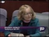 Woman At CT Official Hearing, Lists The Lies