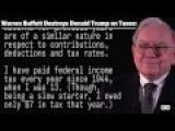 Warren Buffett Destroys Donald Trump On Taxes