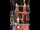 Wrestler Has A Firecracker Shoved Up His Ass!