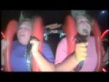 Watch This Lady Lose Her Mind On The Slingshot