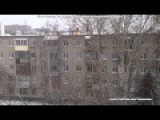 WTF?! Russian Teenager Is Set On Fire, Jumps From A 6 Storey Building And Walks Away