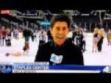 Woman In Heels Slips On Ice And Falls Hard After Kings Game