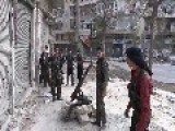 Weird Video Glitches In A Video Of Fsa Mortar Team On Aleppo Streets