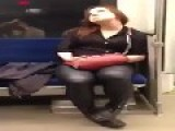 Woman Goes Loco On A Subway. Drugs? Booze? The Devil??