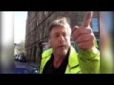 Workman Spits On Local Resident For Taking Photos Of Roadworks