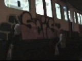 Watch A Mob Of Graffiti Vandals Break Into London Train Yard