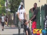 White Dude Pranks Guys With Sagging Pants In The 'Hood
