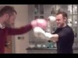 Wayne Rooney Getting Knock Out In The Kitchen By Phil Bardsley!!