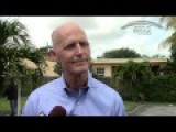 Watch Rick Scott Pretend He Hasn't Been Busted For Misleading Obamacare Ads