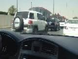 Women Driving A Car In The Streets Of Riyadh, Saudi Arabia