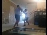 WTF - Child Abuse Or Discipline? Boxes Father Vs Son, Beats Him Bloody