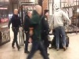 Wrong Head: NYPD Cop Kicks Fellow Officer, Mistaking Him For Suspect VIDEO