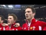 Welsh National Anthem At The Rugby