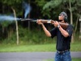 White House Releases Photo Of Obama Shooting Gun At Camp David